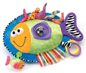 Мягкая игрушка-подвеска для малышей от 0 месяцев.